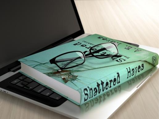 Shattered Laptop