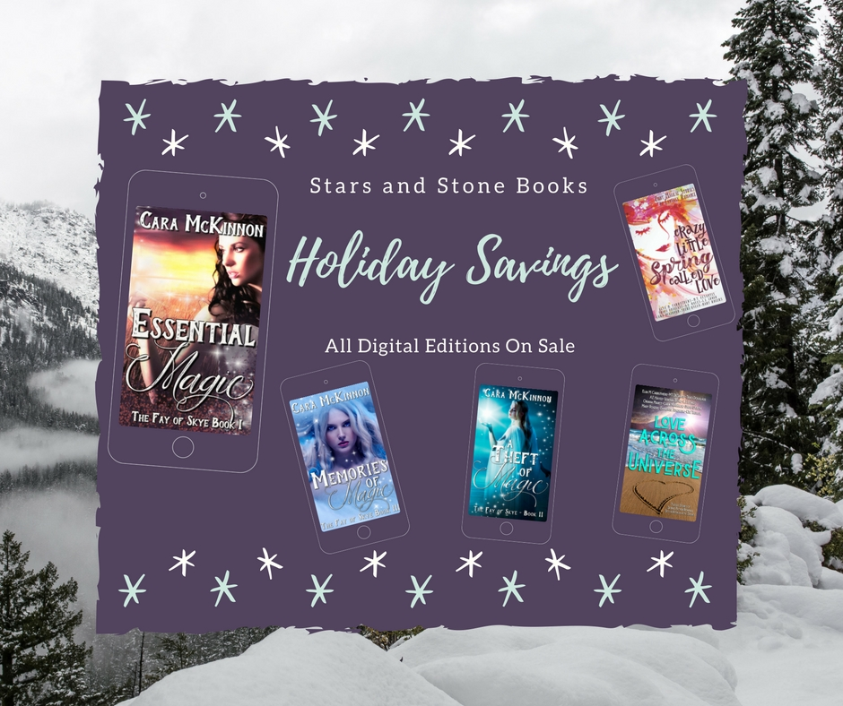 Stars and Stone Books Holiday Sale